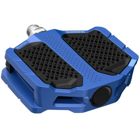 Shimano PD-EF205 Flat Pedals, blue
